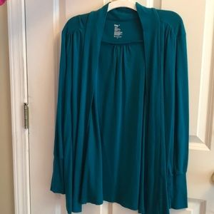 Gap Turquoise Cardigan